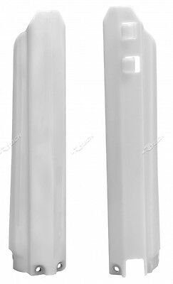 Yamaha YZ450F YZF450 2003 2004 White Fork Guards Protectors Covers YZ0BN0003