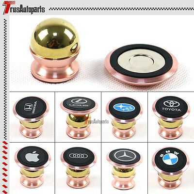 360° Car Mount Sticky Magnetic Stand Holder For Cell Phone iPhone GPS Universal