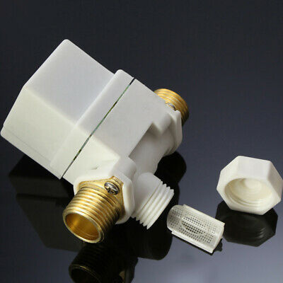 "Hot N/C DC 12V 0-0.8MPa 1/2"" Electric Solenoid Valve for Water Air"