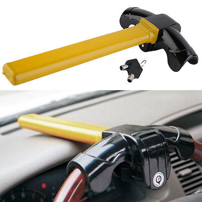 Universal Car Auto Steel Steering Wheel Lock Anti Theft Security Device NEW  HL