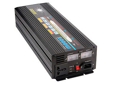 DOXIN DC12V to AC220V Power Inverter 2000W With Charger Car Converter For Car