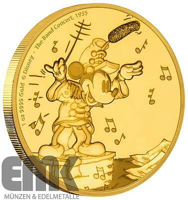 Niue - 250 Dollar 2016 - Mickey - Band Concert - Mickey through the Ages (1.)