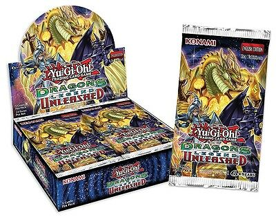 YuGiOh Dragons of Legend Unleashed Booster Box 24 Booster Packs IN STOCK