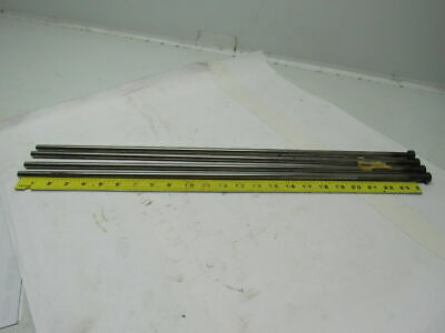 """Plastic Injection Mold Ejector Pin 13/32"""" X 25"""" Lot of 4"""