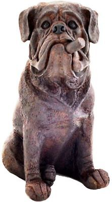 New Bulldog with Cigar Gift Resin Statue Figurine Home Decor