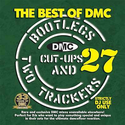 The Best Of DMC Bootlegs Cut Ups & 2 Trackers Vol 27 DJ CD ft Beyonce & Drake