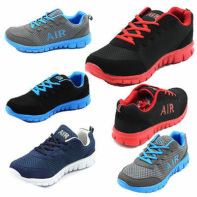 New Air Running Trainers Men's Walking Shock Absorbing Sports Fashion Shoes Size