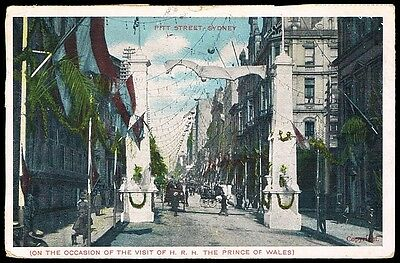 VISIT OF PRINCE OF WALES TO SYDNEY • 1906 • G. D. & D. London Card