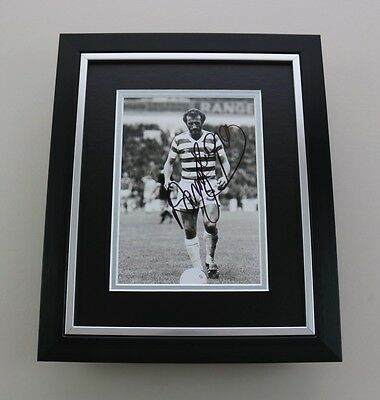 Danny McGrain Signed 10x8 Photo Framed Celtic Memorabilia Autograph Display COA