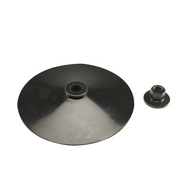 """NEW Replacement 7"""" Rubber Backing Pad w/ Pad Nut"""