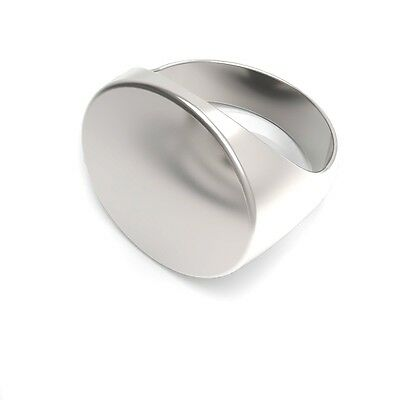 """Engraved 1%ER """"Take None Give None"""" MC 81 AFFA 925 Sterling Silver Ring Sizeble"""