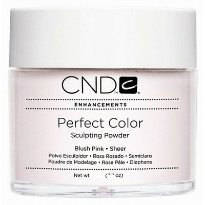 CND CREATIVE NAIL ACRYLIC POWDER  BLUSH Pink Sheer 0.8oz -   Brand New Pot