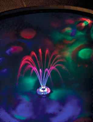 FLOATING WATER FOUNTAIN LIGHT swimming pool night party pond hot tub gift idea x