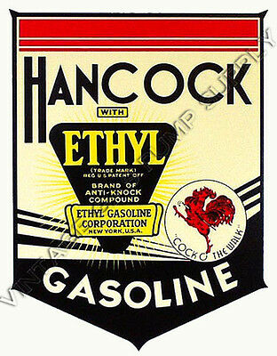 "Hancock Ethyl 11.5""x15"" Water Transfer Decal (DW139)"