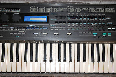 Casio HT-6000 (HT6000) electronic keyboard synthesizer synthesiser