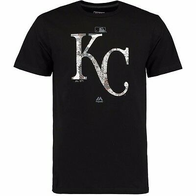 MLB Baseball T-Shirt KANSAS CITY ROYALS Clubhouse Fashion Authentic Collection