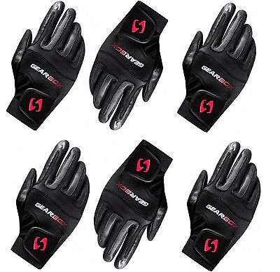 6 (six) gloves Gearbox Movement right SMALL racquetball glove six pack
