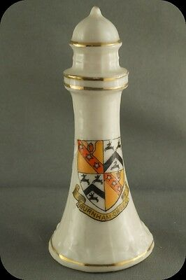 Vintage Crestware  Burnham on Sea Lighthouse Figurine Talbot Crest Ware