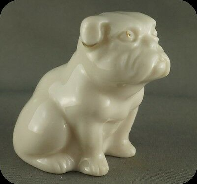 Vintage Crestware Bulldog Dog Axminster Figurine Willow Art Longton Crest Ware