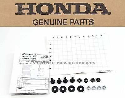 New Genuine Honda Rear Trunk Mount Kit Metropolitan NCH50 02-09 (See Notes) P139