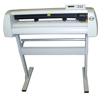 """New 24"""" Vinyl Cutter+WinPCSIGN 2018 Basic+vinyls+app tape; decal making package"""