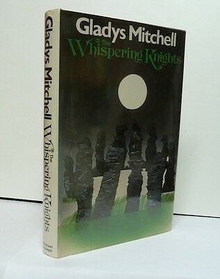THE WHISPERING KNIGHTS, Mitchell, First Edition, Scarce hardcover+jacket