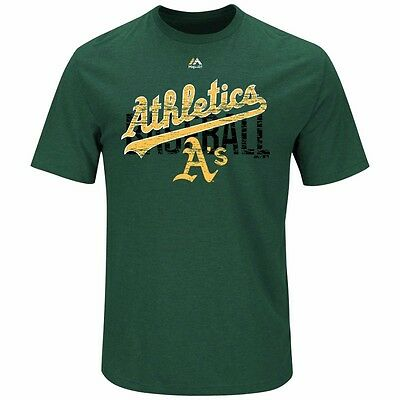 MLB Baseball T-Shirt OAKLAND ATHLETICS A's All-in-the-Game von Majestic