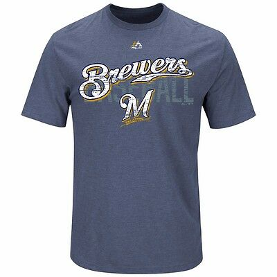MLB Baseball T-Shirt MILWAUKEE BREWERS All-in-the-Game von Majestic