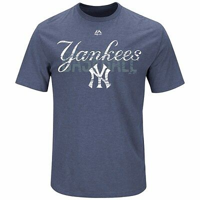 MLB Baseball T-Shirt NEW YORK NY YANKEES All-in-the-Game von Majestic