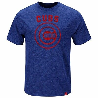MLB Baseball T-Shirt CHICAGO CUBS Hours and Hours von Majestic