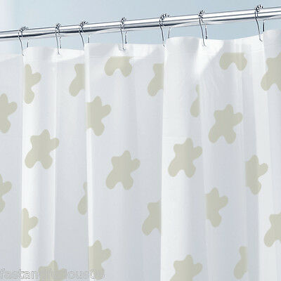 12 Pcs Chrome Stainless Steel Gourd Shower Curtain Rings Hooks with Plated Ball