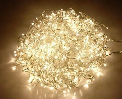 800 LED 85m Outdoor Christmas WARM White Lights fairy String Party Wedding light