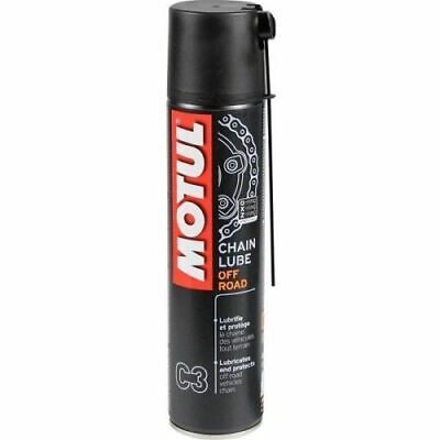 Spray Grasso Motul Off Road C3 Chain Lube Per Catena Trasmissione Moto Da 400 Ml
