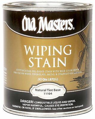 Old Masters Wiping Stain Natural Tint Base Quart