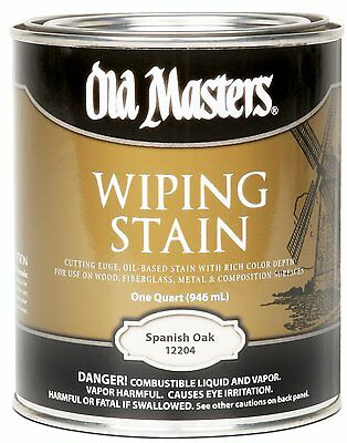 Old Masters Wiping Stain Spanish Oak Quart