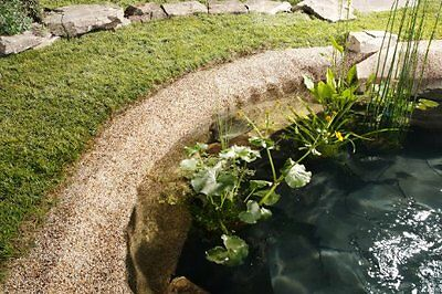Bio Green SFN 40-250 2.50m x 0.40cm Toscana Stone Liner - Natural Red