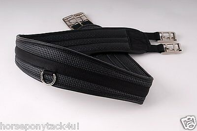 Rhinegold Synthetic Comfort Girth black 38 to 56
