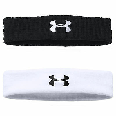 Under Armour Mens Exercise Fitness Performance Headband Sweatband