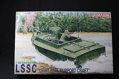 YL087 DRAGON 1/35 maquette bateau 3301 LSSC Light Seal Support Craft
