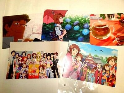 THE iDOLM@STER PostCard 5Set #1 F/S JAPAN