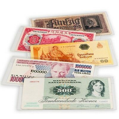 Modern Size Banknotes Sleeves Museum High Grade Currency Lighthouse Premium US