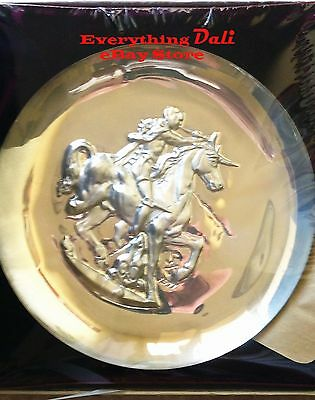 """Lincoln Mint 1971 Plate: """"Unicorn Dyonisiaque"""" by Salvador Dali - Unopened"""