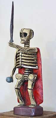 MAYAN KING OF UNDERWORLD  SAN PASQUALE SKELETON (one of a kind)