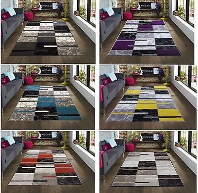 Large Bright Vibrant Coloured Rugs Soft Thick Cheap Rug Carved Modern Carpets