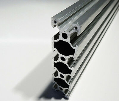 "2080 V-Rail Extrusion - 59"" (1.5m) Length - 4 Pieces"