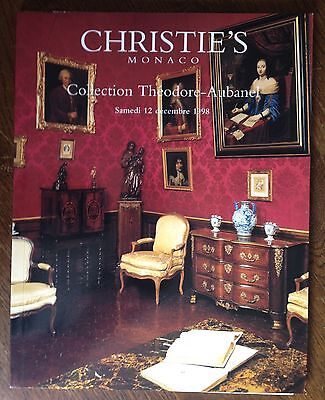 Christie's Collection Theodore Aubanel 1998 Monaco Catalog