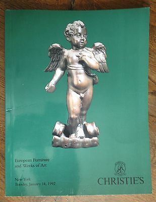 Christie's European Furniture and Works of Art New York 1992 Catalog