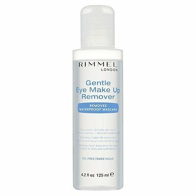 Rimmel London Gentle Eye Make Up Remover-Removes Waterproof Mascara-Oil Free