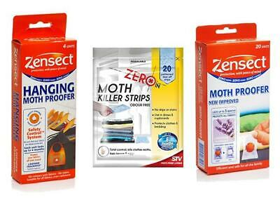 ZENSECT ZERO IN Moth Proofer Hanging Repellent Balls Freshener Fabric Lavender