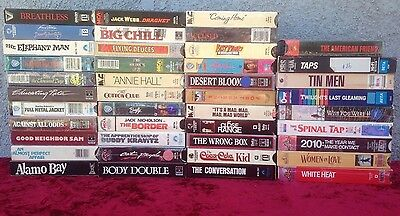 Lot of 42 RARE Betamax Beta Movies Video Tapes MANY RARE titles